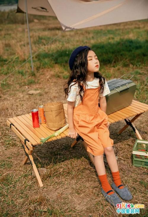 女童气质穿搭你值得PICK,森虎儿童装提升气质