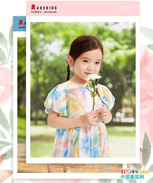 ABC童装新品丨夏,田园里的那一抹甜!