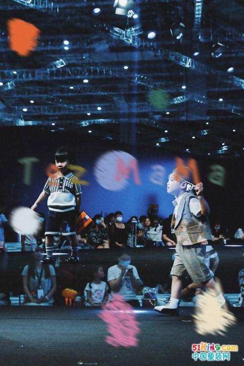 2021上海国际童装产业博览会 TOZMAMA(豆几妈)完美演绎可持续童装美学与强大科技力量