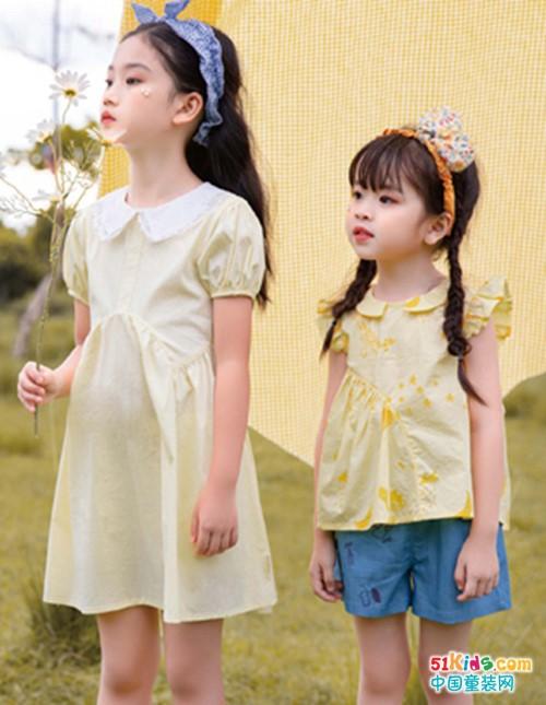 莳季童装,相约夏季,感受大自然的美好