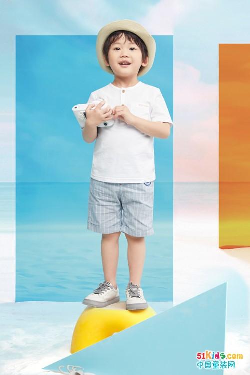 巴柯拉童装,清新健康的夏季穿搭来一波