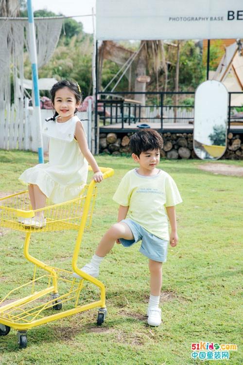 Kiss ABC童装,在趣味的穿搭中培养孩子创新意识