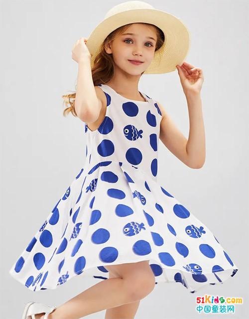 仙女裙out,波点裙时髦又优雅