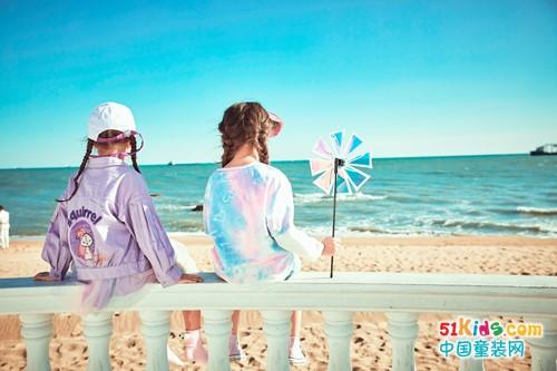 防暑又时尚,水孩儿童装陪你去风景