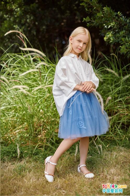 诺贝达童装,高端童装和夏天激情相遇