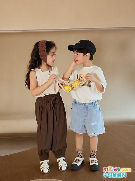 番薯片&拾恩初春夏新品 为孩子精心挑选舒适