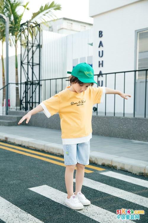迪士汤姆童装 活力满满的动感少年