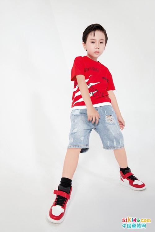 巴迪小虎童装,引领新国潮时尚风