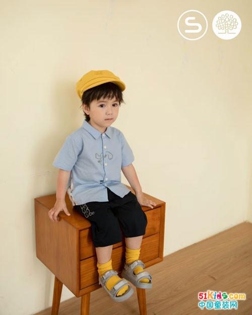 森虎儿童装,原生态的童装穿搭更健康