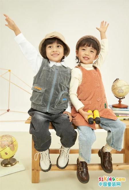 爱儿健童装秋上新,活泼可爱有魔力