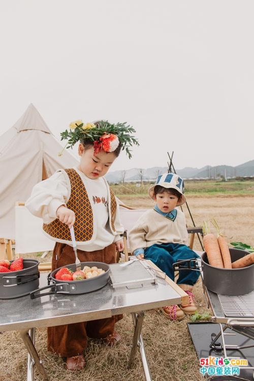 哈沐童装 中国儿童生活美学倡导者