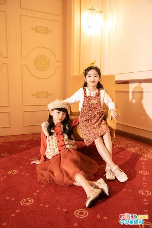 棉绘童装2021秋季新品,穿出自然时尚艺术美