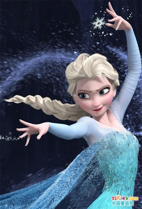 冰雪再临:为什么所有女孩都喜欢艾莎?