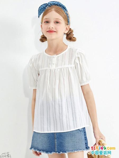 小女孩怎样穿搭才显优雅气质,巴拉巴拉葡京集团直营app教你这样搭配