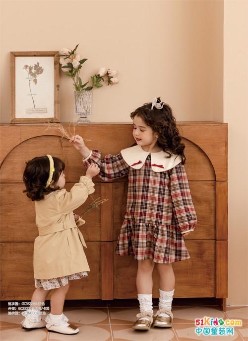 怎样才能穿出甜美小公主范,Timi Kids童装这样搭配