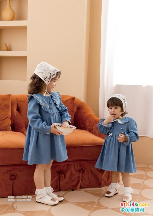 怎樣才能穿出甜美小公主范,Timi Kids童裝這樣搭配