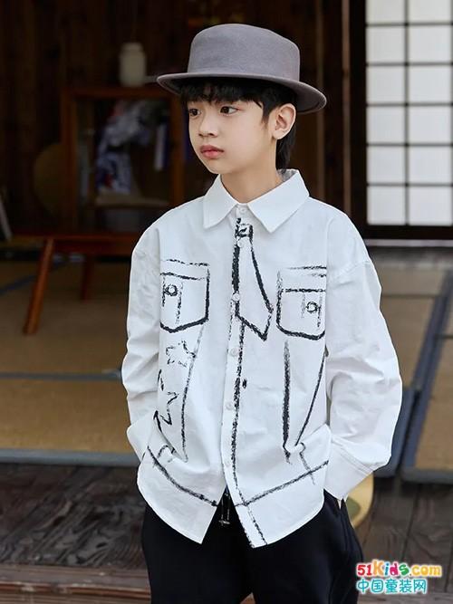 夏秋换季,小男生的这样穿搭时尚又帅气