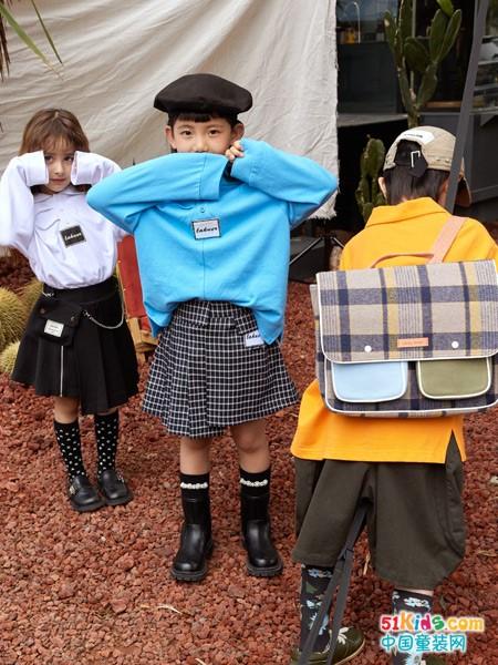 童裝換新,潮流韓版拉酷兒童裝是首選