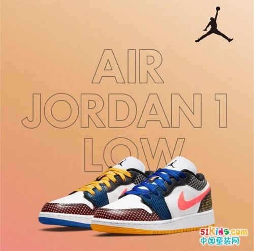 AIR JORDAN1 LOW MMD BG运动鞋,焕新演绎凌跃风范