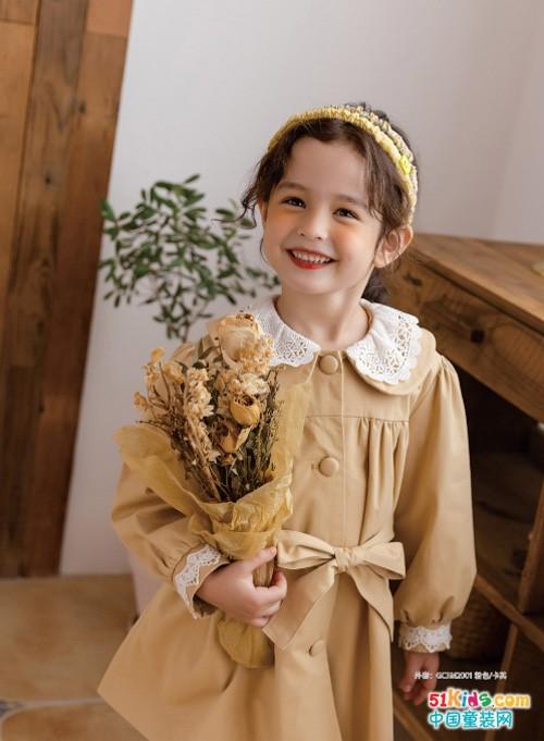 淑女风和学院风哪个更适合五六岁的小女孩?今年秋季流行什么样的风衣?