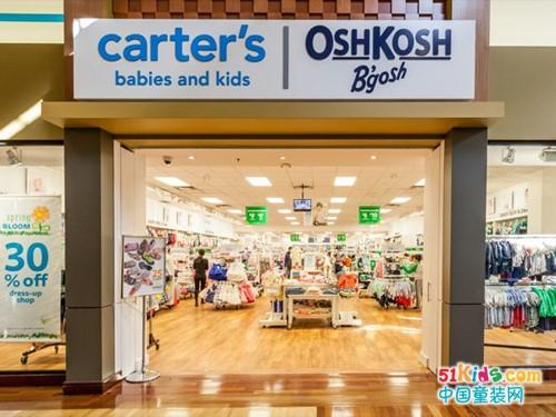 美国百年经典童装品牌,OSHKOSH BGOSH童装