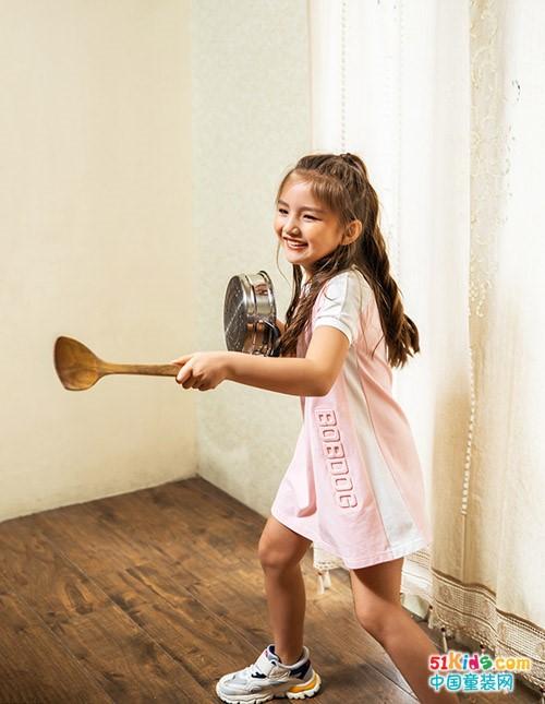 要做快乐的孩子,就穿童话色彩的巴布豆童装