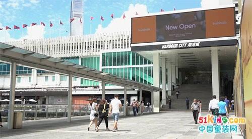 巴拉巴拉海港城店开业,再度布局香港市场