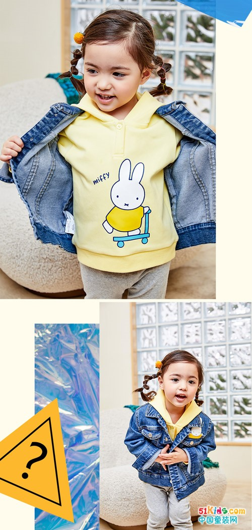 活泼亮丽的黄色如何搭配,让女孩更可爱