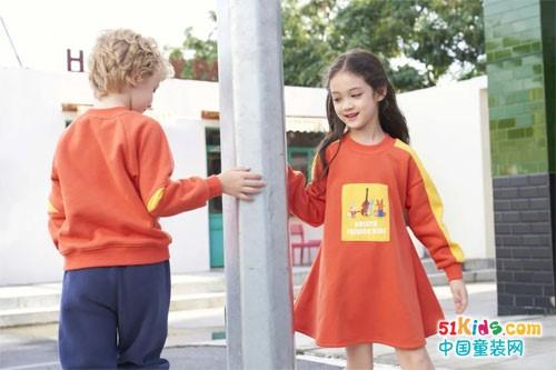 儿童时尚告别基础款,颜色大胆才够靓
