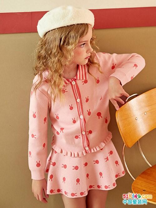 当秋天遇见OSA欧莎童装,是女孩子最美的选择