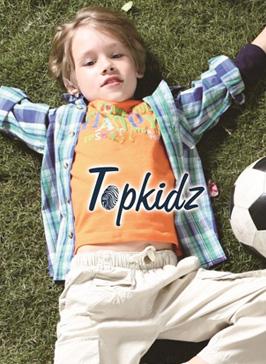 全新儿童生活概念品牌童装TOPKIDZ与您相约2014CHIC