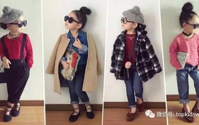 5岁墨镜萌小妞时尚穿搭,生个女儿就给她这样打扮!