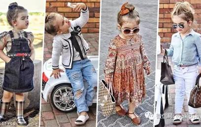3岁萌妞也能穿出自己的潮娃style,时尚度杠杠滴!