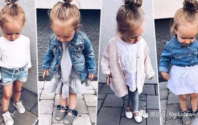 集可爱和时尚于一身!2岁Amelia的萌妞街拍