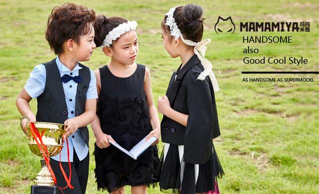 玛玛米雅童装 做阳光少女