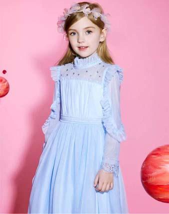 安奈儿礼裙上新,从童话里跳出一位小公主