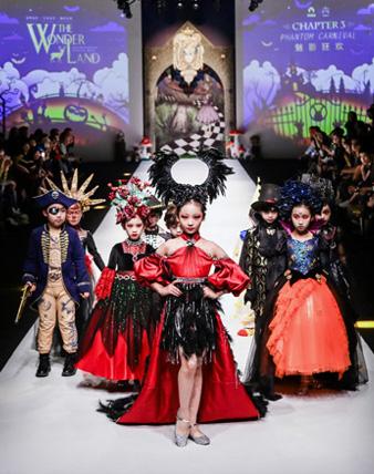 绮梦之旅:IKALI 2019上海时装周SS20 KIDS WEAR 诡谲华丽的北欧末世神话!