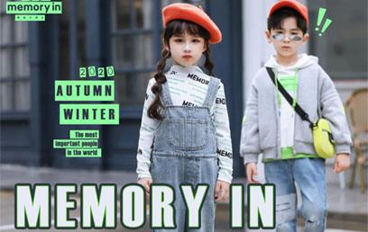 2020秋冬两个小朋友时装周展示