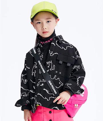 JOJO KIDS丨你的衣橱必须有的半高领打底T