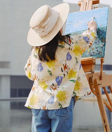 设计师原创系列丨春天开始的时候,跟随艺术一起畅享童真