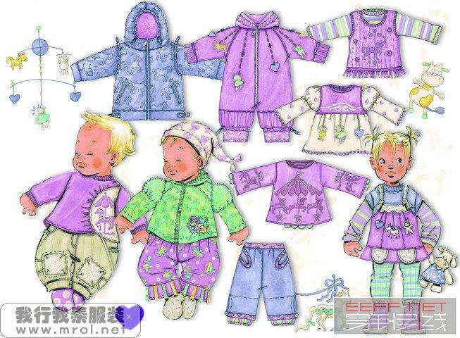 时尚童装手稿(二)_服装设计