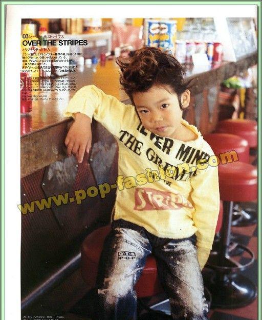 kidsstyle07年8月刊日本专业儿童服装杂志(7)_外贸