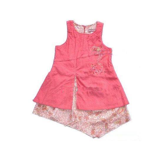 欧美09春夏女童连衣裙新款